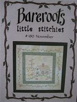 Bareroots Little Stitchies - November